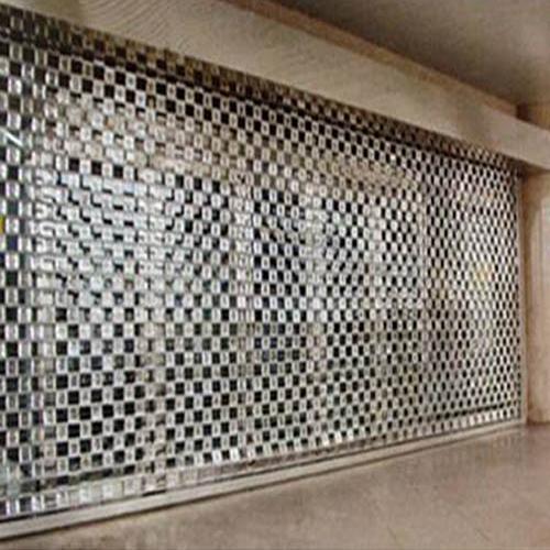 不锈钢方格卷帘门